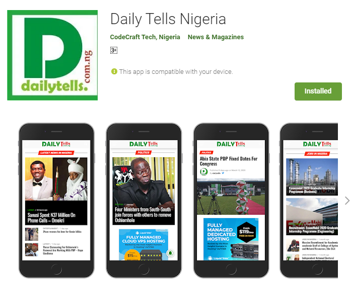 Daily Tells Nigeria